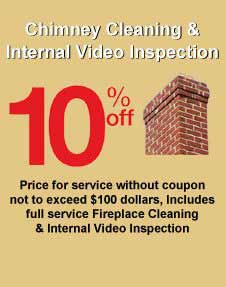 Fall Chimney Cleaning & Internal Video Inspection Discount